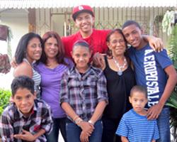 La familia de Erica