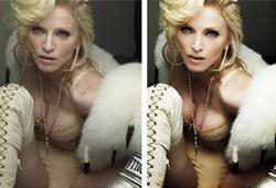 Madonna Photoshopped