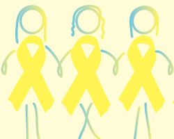 Endometriosis Ribbon Girls