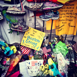 Boston Strong - photo courtesy of Amanda Kohn