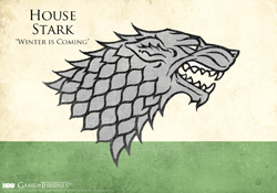 HBO Game of Thrones House Stark