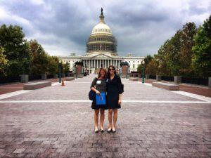 Jill & Carly EDC LobbyDay